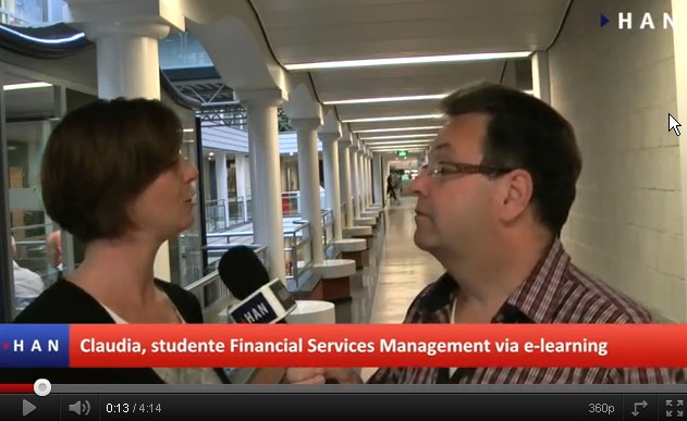 Videoblog: HAN Financial Services Management via e-learning groep 1