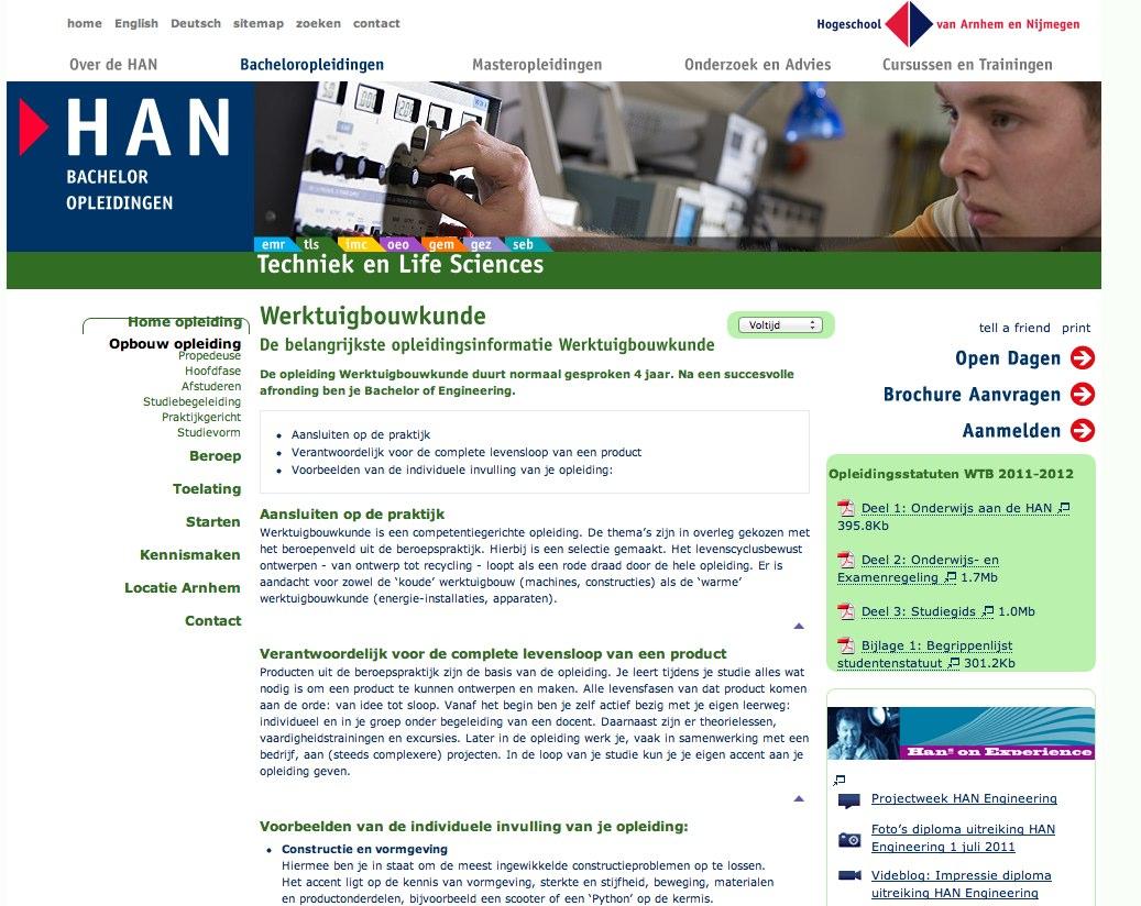 Werktuigbouwkunde HAN krijgt opnieuw accreditatie
