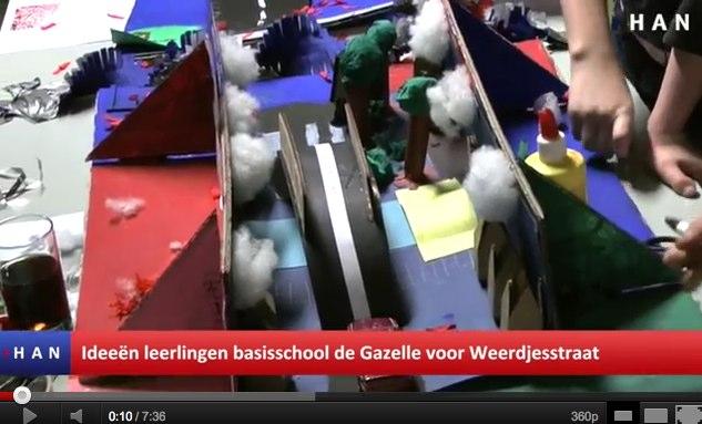 Videoblog: Ideeën voor Weerdjesstraat in Arnhem van leerlingen basisschool de Gazelle