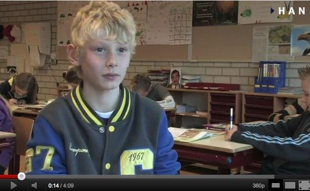 Videoblog: Ondernemer voor de klas-dag 10 januari 2012