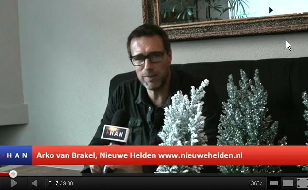 Videoblog: Interview Arko van Brakel Ondernemer voor HAN project Ondernemer voor de klas