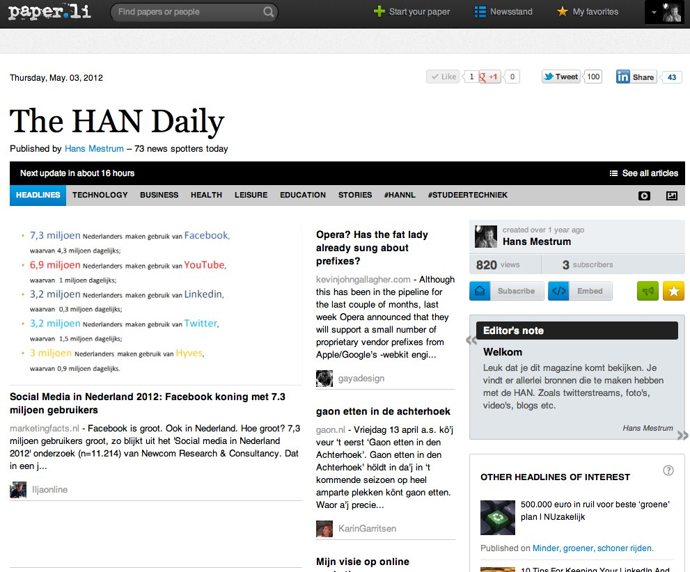 The HAN Daily