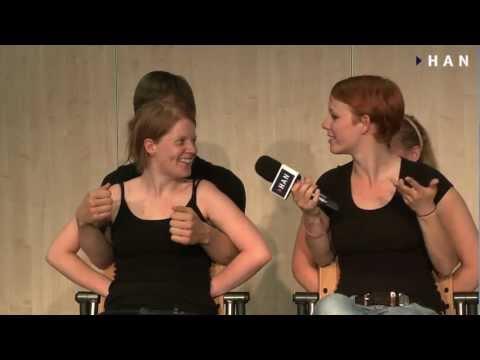 Videoblog: Arnhem Business School Theatre Sport: the HANdsomes