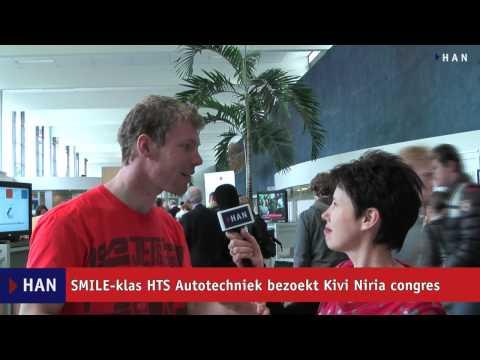Videoblog: SMILE-klas HTS Autotechniek bezoekt kivi niria congres