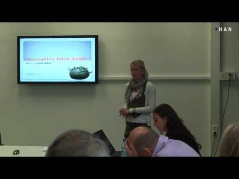 Videoblog: Minor Innovation Pitch HAN