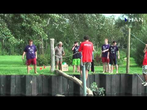 Videoblog: Sport en spel HAN Elektrotechniek introductie aug 2010