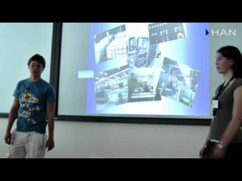 Videoblog: Presentatie scholieren Ludgercollege bij High Tech Challenge 2010
