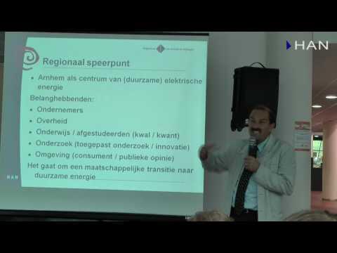 Videoblog: HAN Solarboat sponsormeeting – Tinus Hammink programmadirecteur Strategische Verbindingen