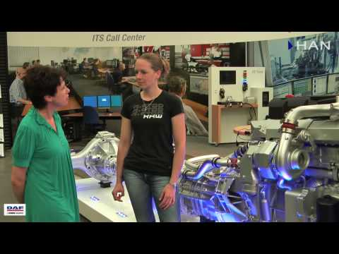 Videoblog: Oud student HTS Autotechniek bij DAF – Linda Sparreboom