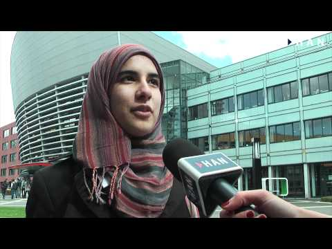 Videoblog: Israa Alyadzidi HAN student from Oman