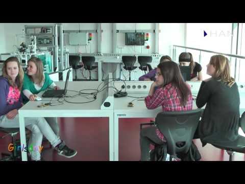 Videoblog: Impressie workshops Girlsday bij HAN Techniek