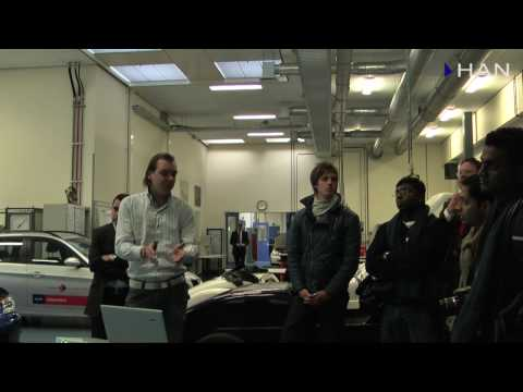 Videoblog: Indian press members visited HAN University of Applied Science in Arnhem (2)