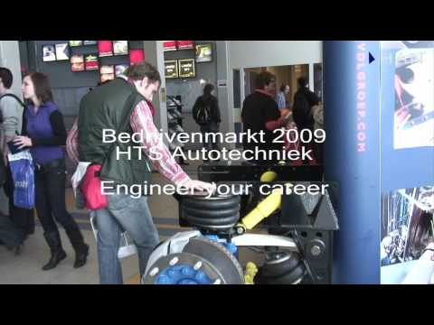 Videoblog: Bedrijvenmarkt HTS Autotechniek – Engineer your career