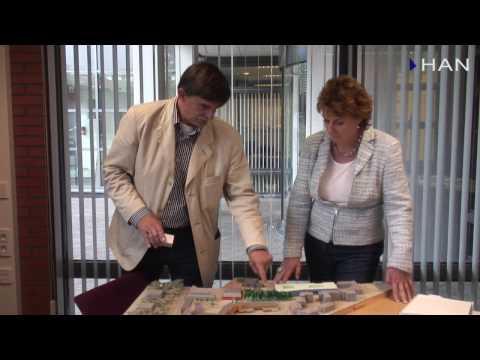 Videoblog: wandeling door de nieuwbouw van HAN Applied Sciences