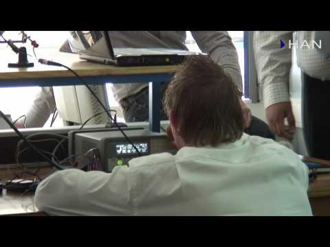 Videoblog: HAN Embedded Systems: robot