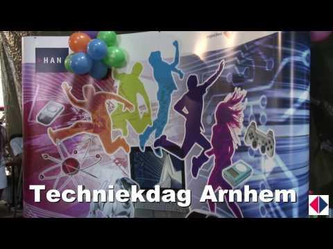 Videoblog: Techniekdag Arnhem