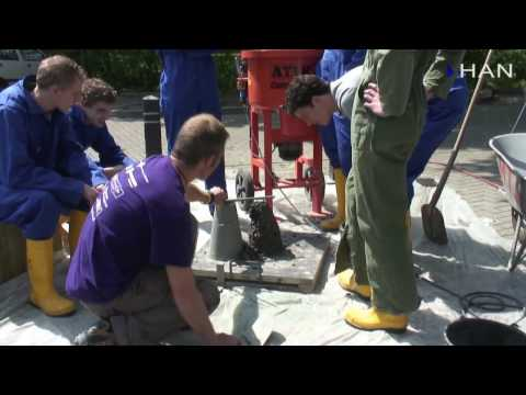 Videoblog: duurzamere beton maken