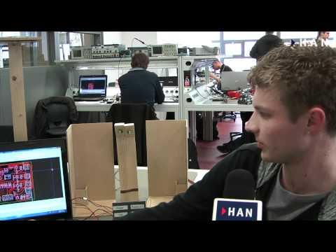 Videoblog: HAN Elektrotechniek project energie en duurzame opwekking: LED Tuinverlichting