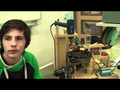 Videoblog: HAN Elektrotechniek project machinebesturing – de poffertjesmachine