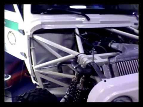 1e motorrun van Go-4Dakar auto!