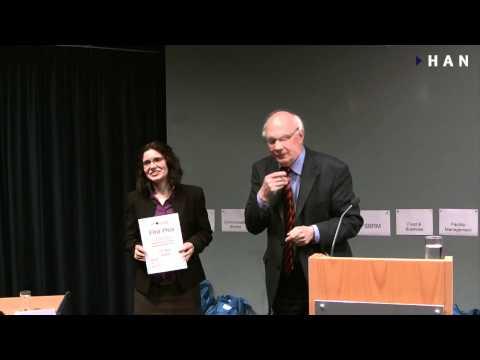 Videoblog: Winnares HAN FEM Afstudeerprijs 2010-2011: Sabina Baciu