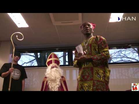Videoblog: impression of visit of Sinterklaas at HAN HLO