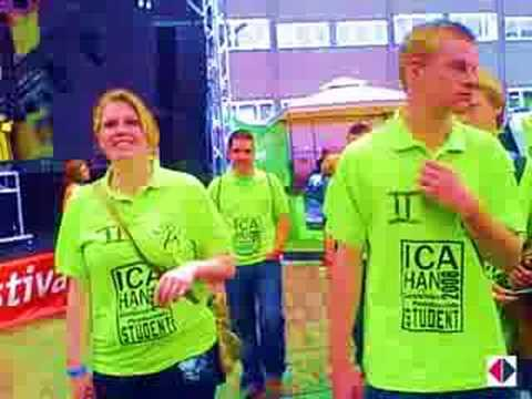 Videoblog: HAN Festival 2008: intromarkt en sportintro