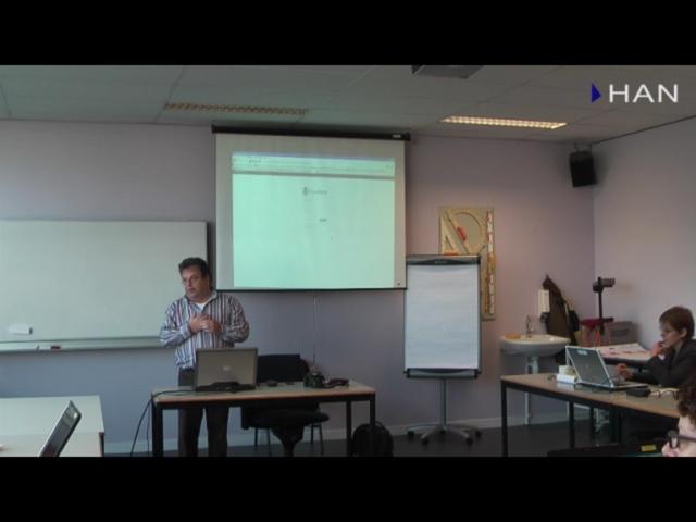 Videoblog: Workshop bloggen bij de HAN