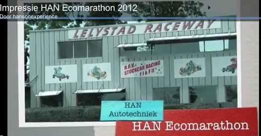 Videoblog: HAN Ecomarathon 2012