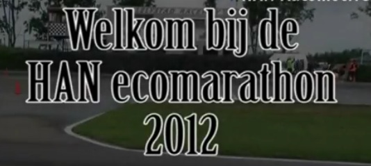 Videoblog HAN Ecomarathon 2012