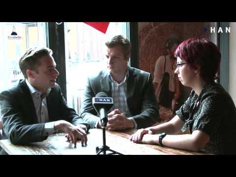 Videoblog: Bizzaholic en Consultantkiezen – bedrijven van studenten HAN Commerciële Economie