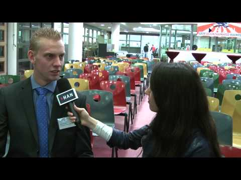 Videoblogs: Rick Scholten winnaar Publieksprijs HAN Dag van de Duurzaamheid