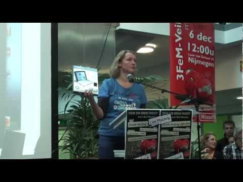 Videoblogs: 3FeMveiling voor Serious Request bij HAN FEM