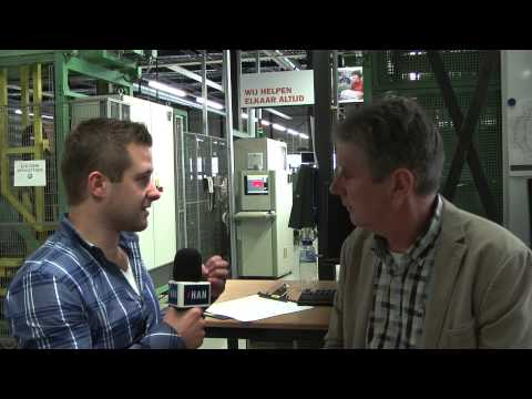 Videoblog: HAN Bedrijfseconomie bezoekt Lean implementatie bij Aldipress