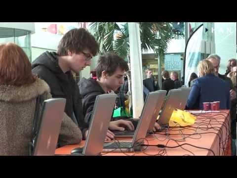 Videoblog: Open Dag HAN Arnhem maart 2013