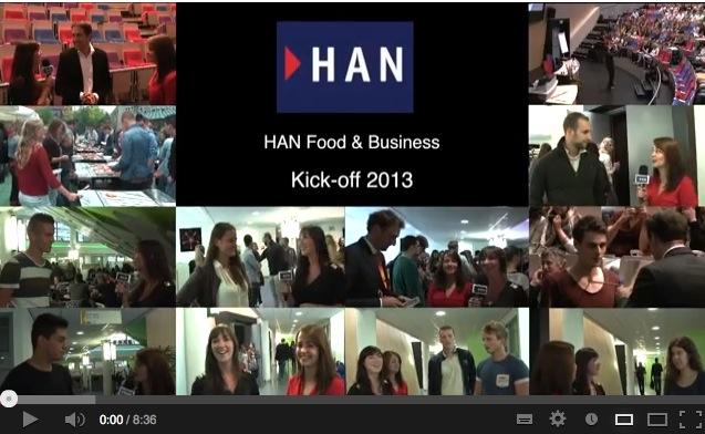 Videoblog: Kick-off HAN Food & Business 2013