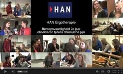 Videoblog: HAN Ergotherapie – Observeren tijdens chronische pijn