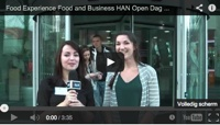 Videoblogs: Food and Business HAN op de Open Dag