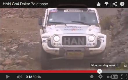 Videoblog: HAN Go4 Dakar 7e etappe