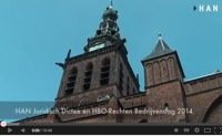 Videoblog: Impressie HAN Juridisch Dictee en HBO-Rechten Bedrijvendag 2014