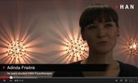 Videoblog: Een onverwacht bijzondere stage ervaring van een HAN Fysiotherapie studente